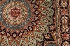 MO-58308, Kashmir, silk, 99 x 98 cm, India, 960 €