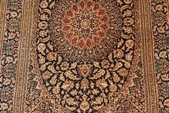 N-506, Ghom, pure silk, 112 x 75 cm, Iran, 2400€