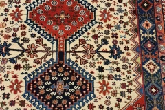 MO-41, Yalameh, wool, 151 x 102 cm, Iran, 460 €