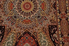MO-98535, Tabris, wool with silk, 150 x 100 cm, Iran, 1900 €