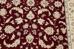 AK-63, Esfahan, wool with silk, 142 x 93 cm, Iran, 1800 €