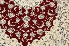 MO-13, Nain, wool with silk, 208 x 130 cm, Iran, 1760 €