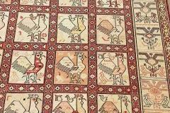 MO-142, Ardabil, silk, 207 x 130 cm, Iran, 1440 €