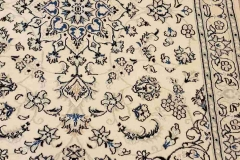 MO-506, Nain, wool with silk, 204 x 140 cm, Iran, 1700 €