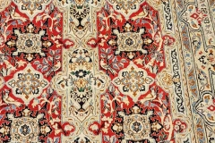 N-413, Nain, wool with silk, 198 x 127 cm, Iran, 1760 €
