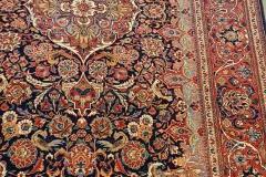 N-427, Kashan old, wool, 210 x 137 cm, Iran, 3400 €