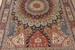 MO-521, Kashmir, pure silk, 247 x 167 cm, India, 4920 €