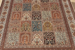 MO-526, Kashmir, pure silk, 245 x 169 cm, India, 4750 €
