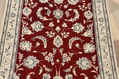 MO-238, Nain, wool with silk, 196 x 80 cm, Iran, 600 €