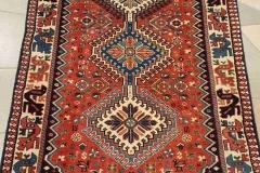 MO-42, Yalameh, wool, 198 x 84 cm, Iran, 590 €