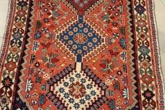 MO-43, Yalameh, wool, 194 x 83 cm, Iran, 560 €