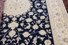 MO-28, Nain, wool with silk, 258*196 cm, Iran, 3040 EUR