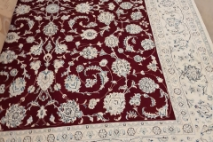 Mo-21, Nain, wool with silk, 298*250 cm, Iran, 4760 EUR