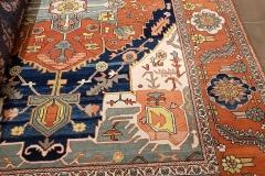 MO-133, Heriz, wool, 344 x 253 cm, Iran, 2760 €