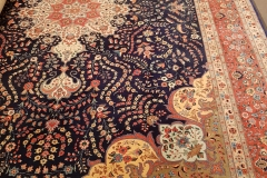 N-154, Tabris, wool with silk, 330 x 223 cm, Iran, 5250 €