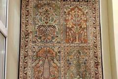 MO-76, Kashmir, silk, 311 x 80 cm, India, 1760 €