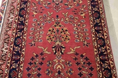N-165, Sarugh, wool, 309 x 74 cm, India, 840 €