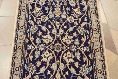 N-263, Nain, wool with silk, 250 x 65 cm, Iran, 600 €