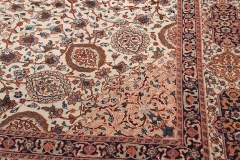 N-305, Tabris antique, wool with silk, 350 x 290 cm, Iran, 3480 €