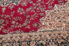 N-318, Kirman old, wool, 350 x 340 cm, Iran, 4440 €