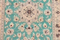 MO-253, Nain, wool with silk, 90 x 57 cm, Iran, 150 €