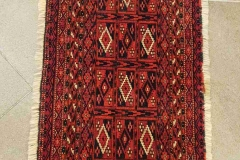 N-28, Turkman old, wool, 108 x 36 cm, Iran, 280 €