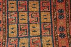 N-30, Afghan old, wool, 90 x 60 cm, Afghanistan, 100 €