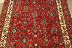AK-116, Qashqai old, wool on silk, 234 x 148 cm, Iran, 7400 €