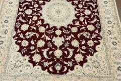MO-22, Nain, wool with silk, 205 x 153 cm, Iran, 1680 €