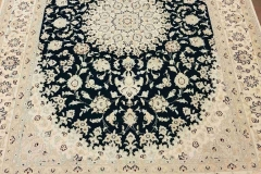 MO-247, Nain, wool with silk, 242 x 171 cm, Iran, 2720 €