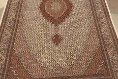 MO-502, Tabris, wool with silk, 257 x 153 cm, Iran, 4900 €