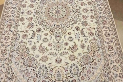 MO-507, Nain, wool with silk, 234 x 146 cm, Iran, 3840 €