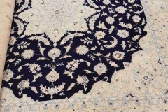 MO-246, Nain, wool with silk, 200*200 cm, Iran, 1480 EUR
