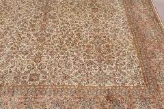 Mo-515, Kashmir, silk, 256*246 cm, India, 4900 EUR