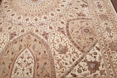 MO-57460, Indo-Ghonbad, wool with silk, 350 x 249 cm, India, 5120 €