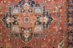 N-1, Heriz antique, wool, 380 x 280 cm, Iran, 2640 €