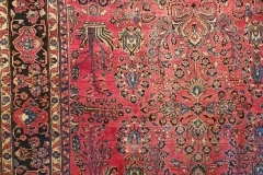 N-229, Sarugh antique, wool, 366 x 266 cm, Iran, 7500 €