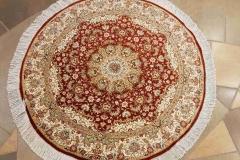 MO-57272, Ghom, pure silk, 100 x 100 cm, Iran, 2720 €