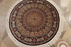 MO-58307, Kashmir, silk, 103 x 102 cm, India, 1040 €