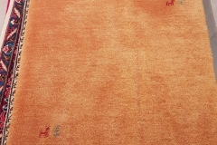 N-177, Gabbeh, wool, 292 x 83 cm, Iran, 550 €