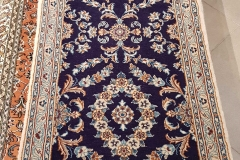 N-260, Nain, wool with silk, 297 x 61 cm, Iran, 690 €